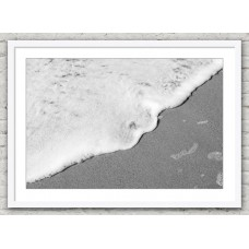 Sand and Sea white frame