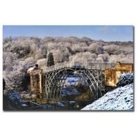 Iron Bridge Winter
