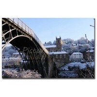Iron Bridge Village Winter